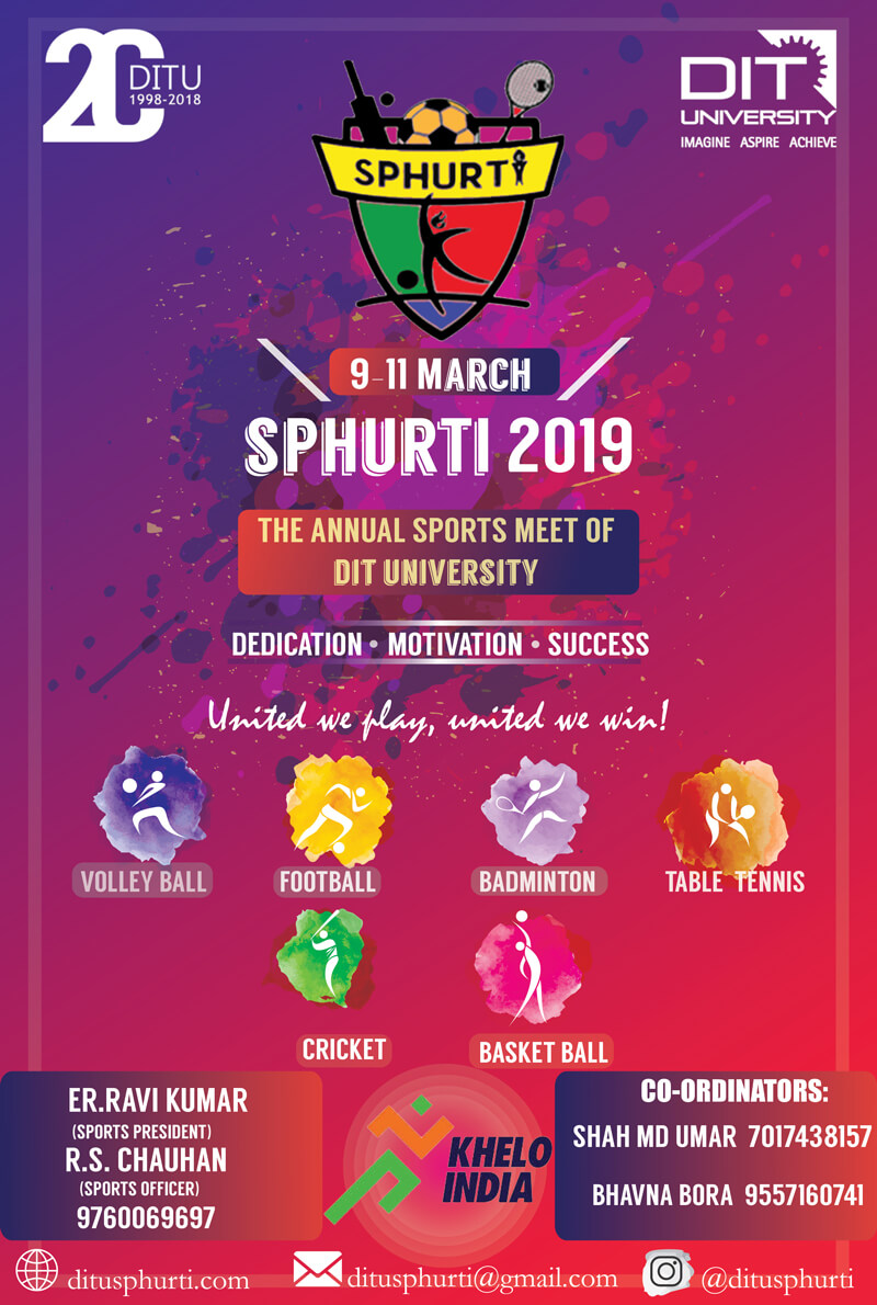 Annual National Sports Fest 'SPHURTI 2019'