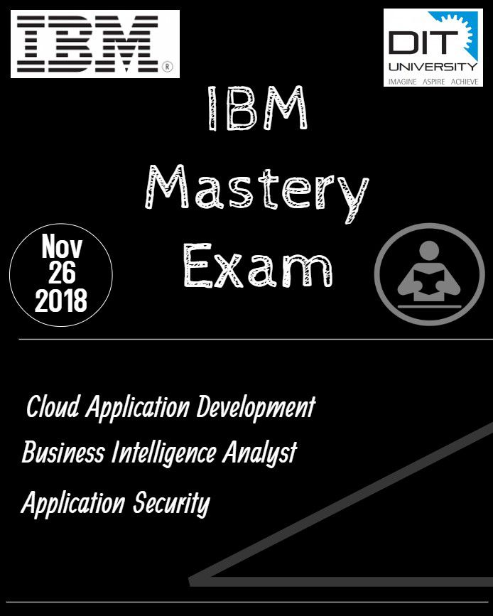 'IBM Mastery Exam' by Department of CSE