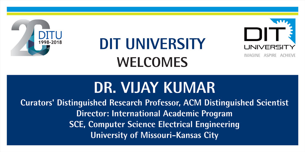 Guest Lecture by Dr. Vijay Kumar, University of Missouri-Kansas City