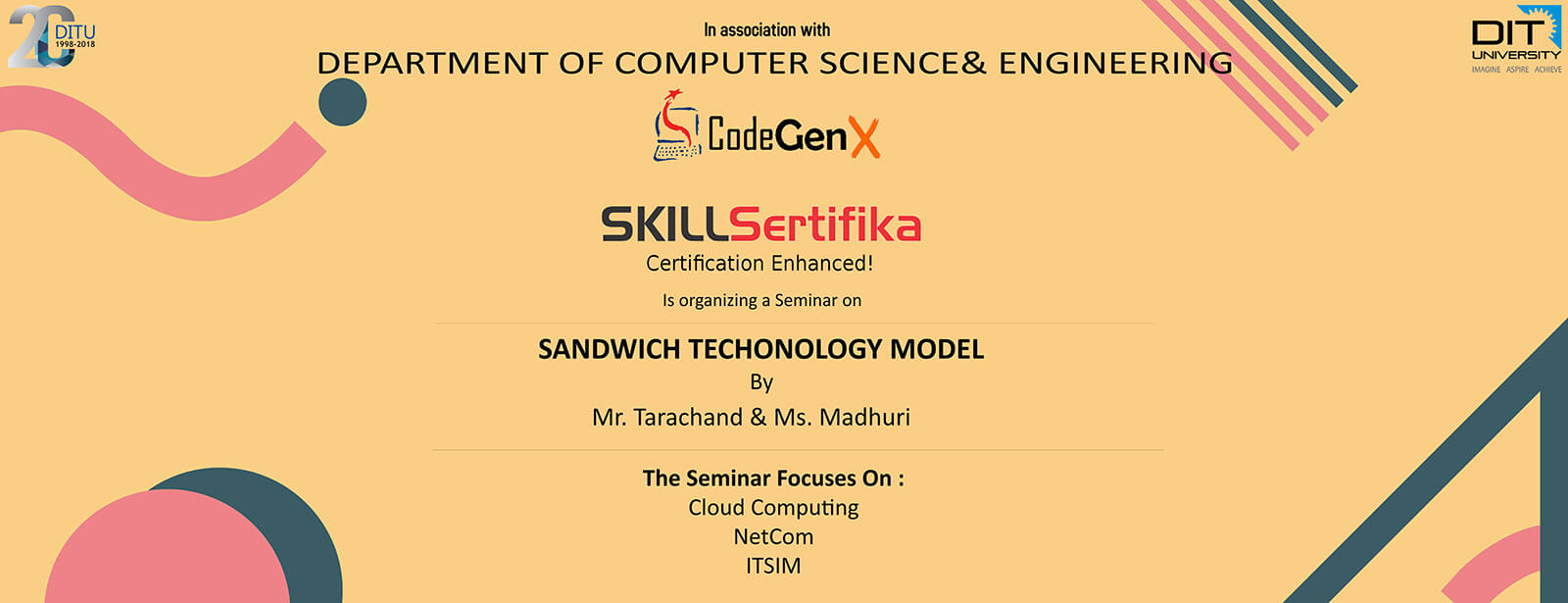 "Seminar on ""Sandwich Technology Model"" by SKILLSertfika"