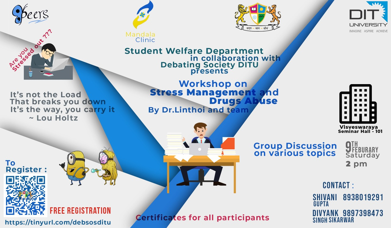 Workshop on Stress Management and Drugs Abuse