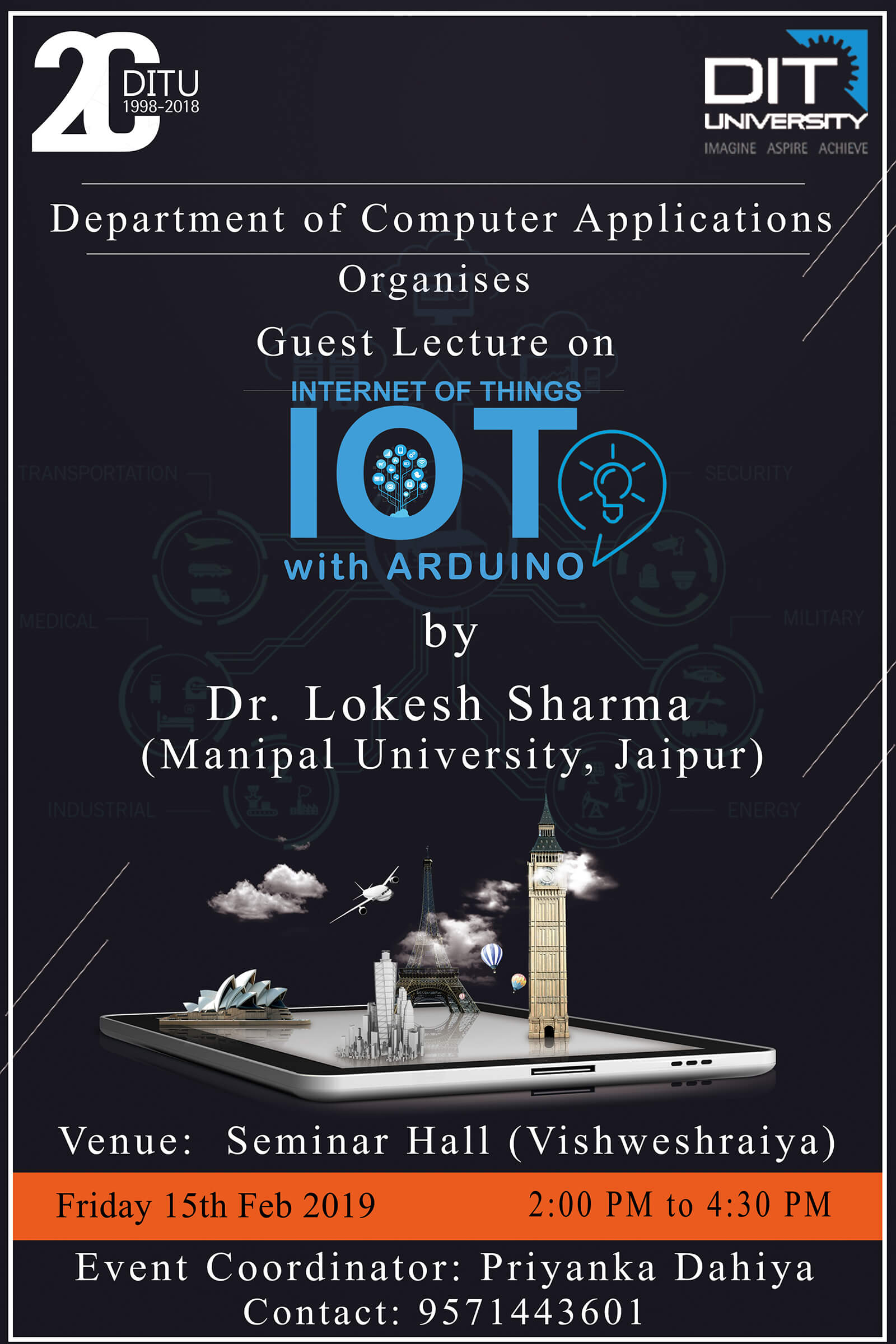 Guest lecture on 'Internet of Things (IOT)'