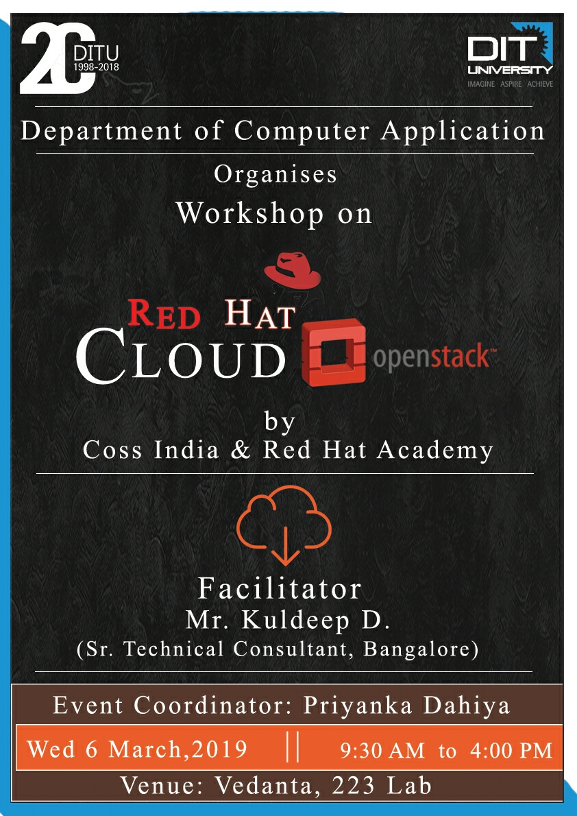 One Day workshop on Redhat Cloud OpenStack