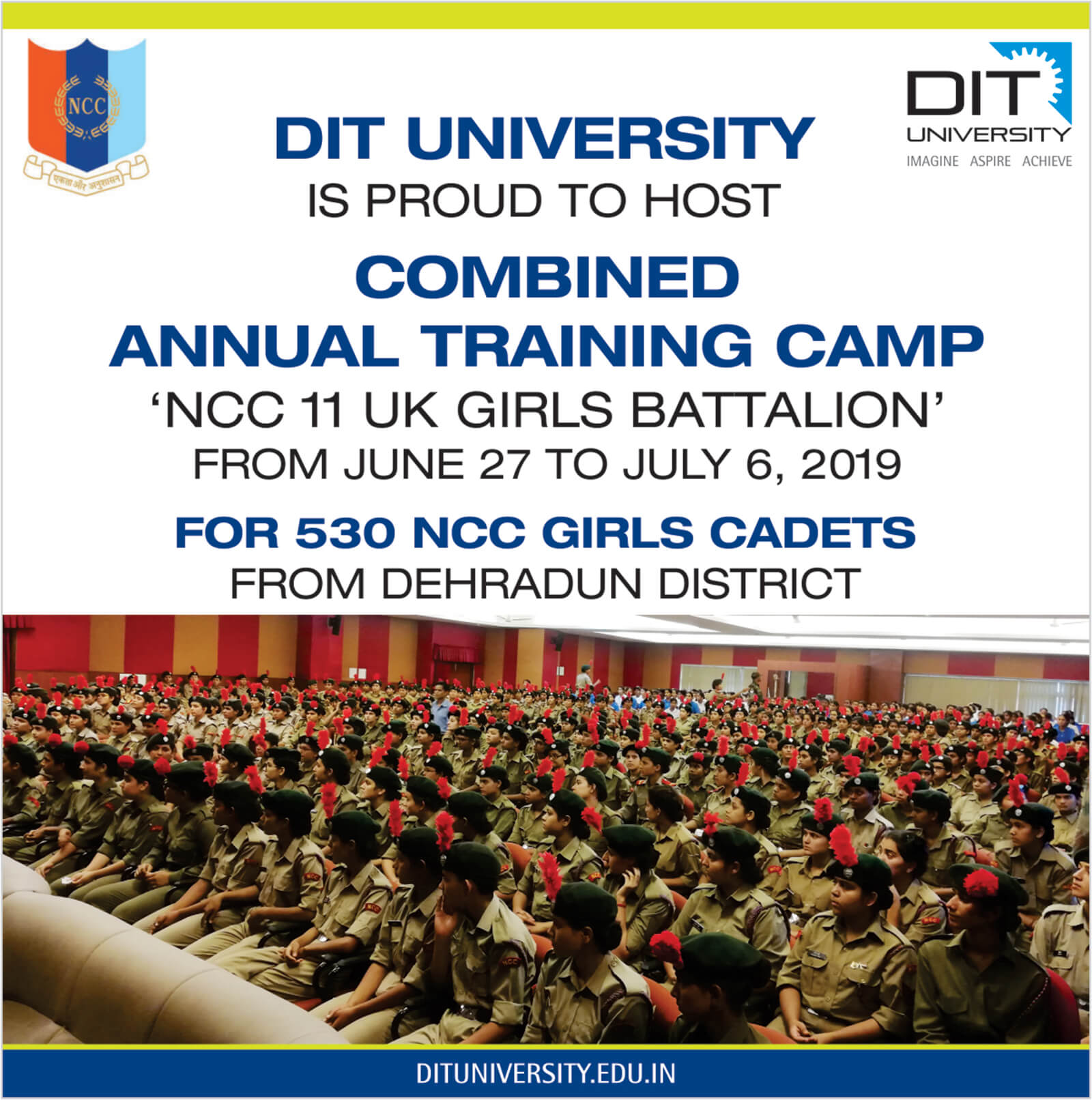 10 Days NCC Annual Training Camp (ATC)