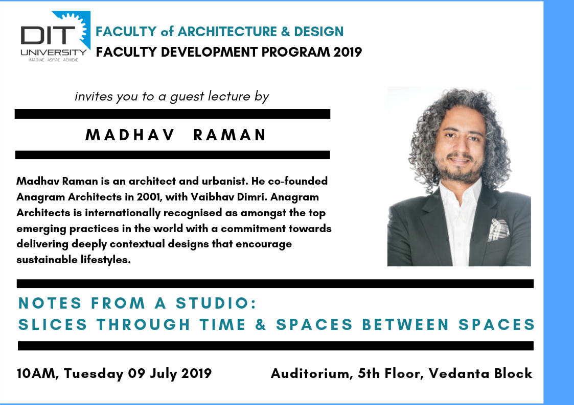 'Faculty Development Program' by Department of Arch. & Design