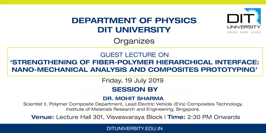 "Guest Lecture on ""Strengthening of Fiber-Polymer Hierarchical Interface: Nano-mechanical Analysis and Composites Prototyping"""