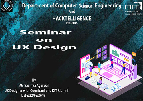 Seminar on 'UX Design' by Department of CSE