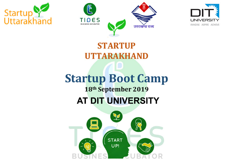 'STARTUP UTTARAKHAND' A Startup Boot Camp by TIDES Business Incubator