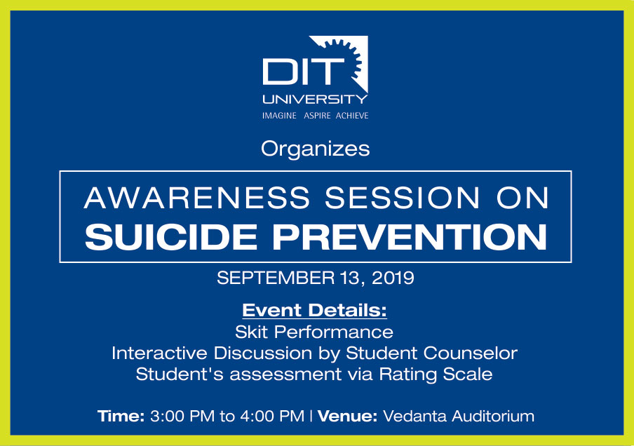 Awareness Session on 'SUICIDE PREVENTION'