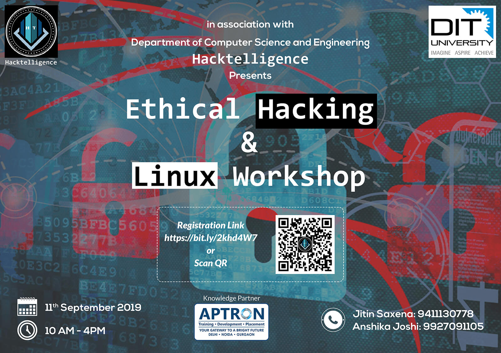 Workshop on 'Ethical Hacking & Linux' by Department of CSE