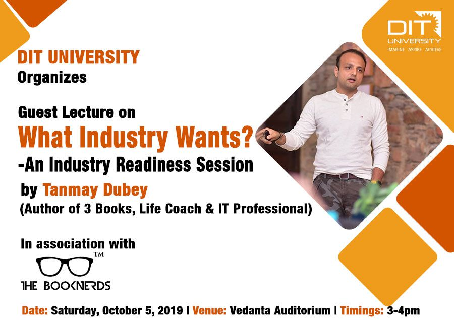 "Guest Lecture on ""What Industry Wants? - An Industry Readiness Session"""