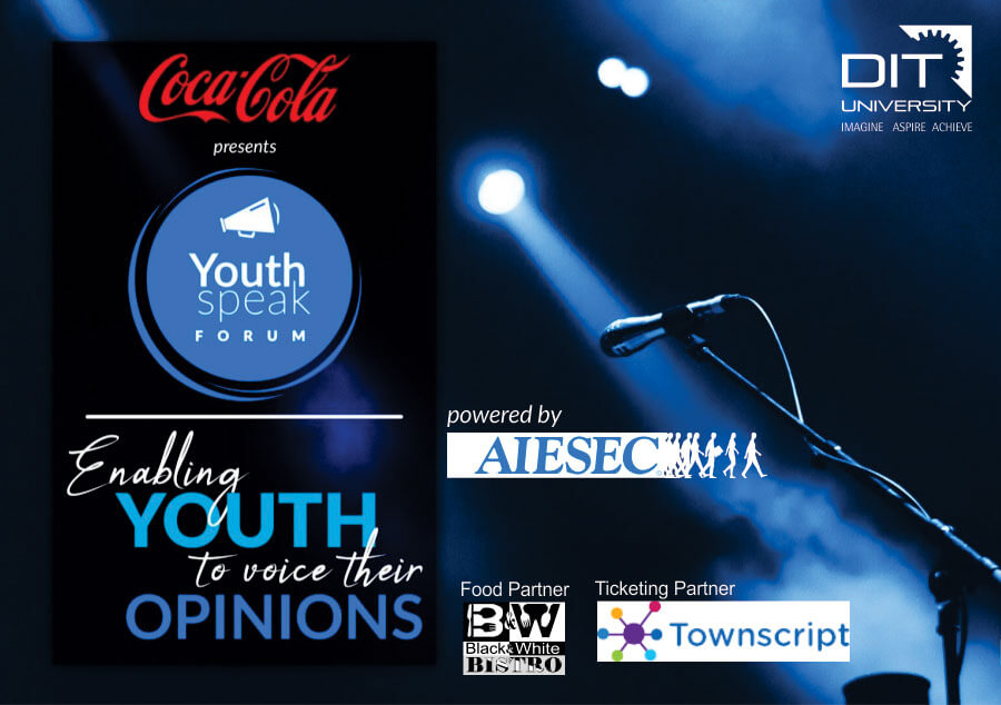 'Coca-Cola YouthSpeak Forum' at DIT University by AIESEC Dehradun