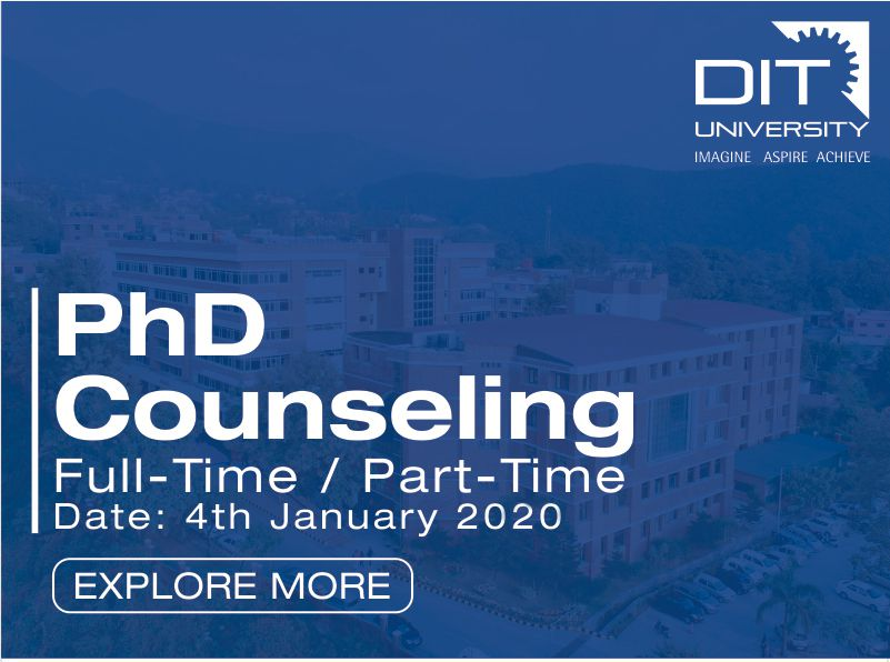 PhD (Full-Time/Part-Time) Counseling Notification 2020