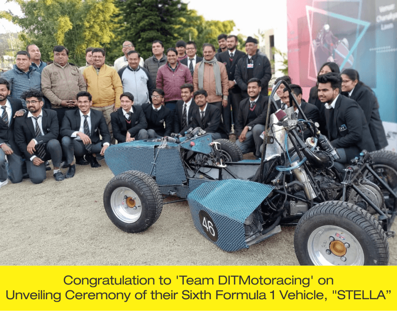"Congratulation to 'Team DITMotoracing' on Unveiling Ceremony of their Sixth Formula 1 Vehicle, ""STELLA"""