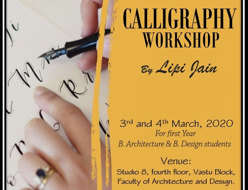 Calligraphy Workshop by FoAD