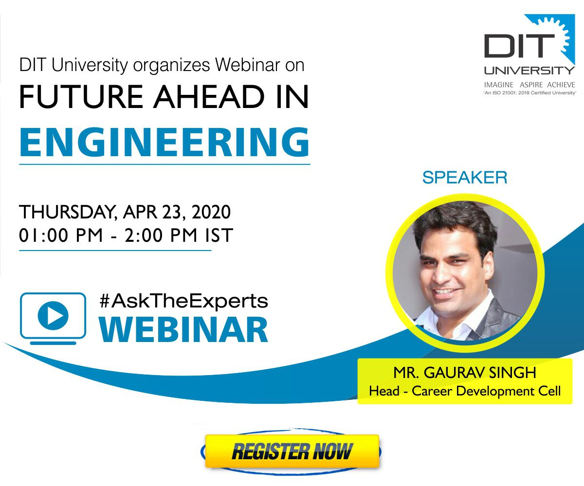 Webinar on 'Future ahead in Engineering'