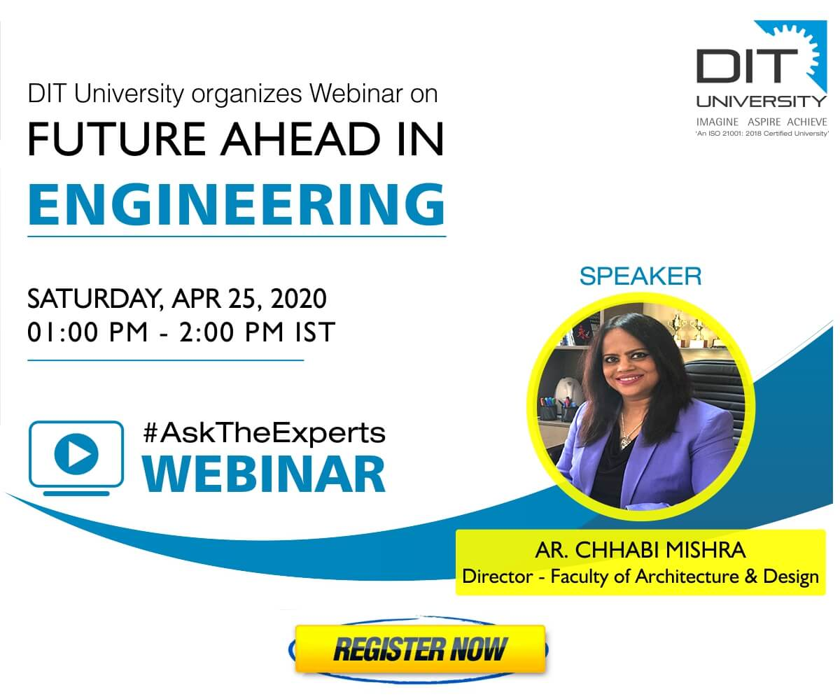 Webinar on 'Architecture and Design as a career option'