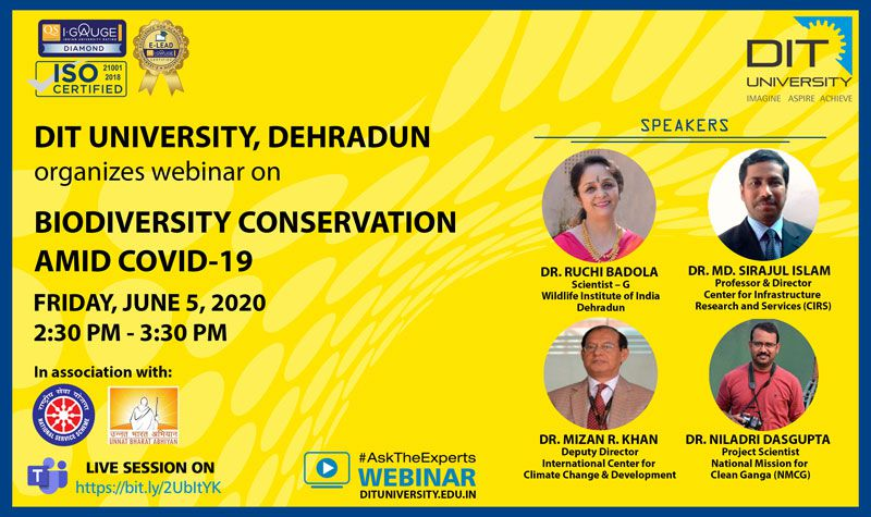 Webinar on 'Biodiversity Conservation Amid Covid-19'