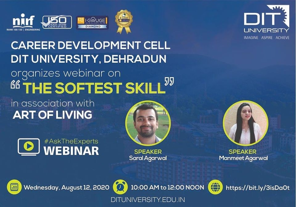 Webinar on 'The Softest Skill'