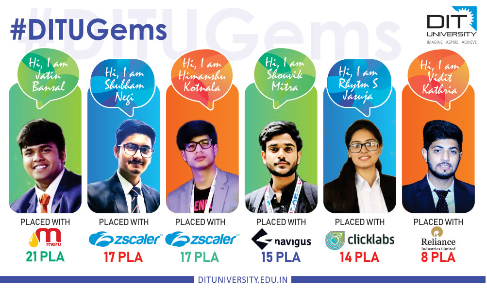 Proud DITians - Student Placements