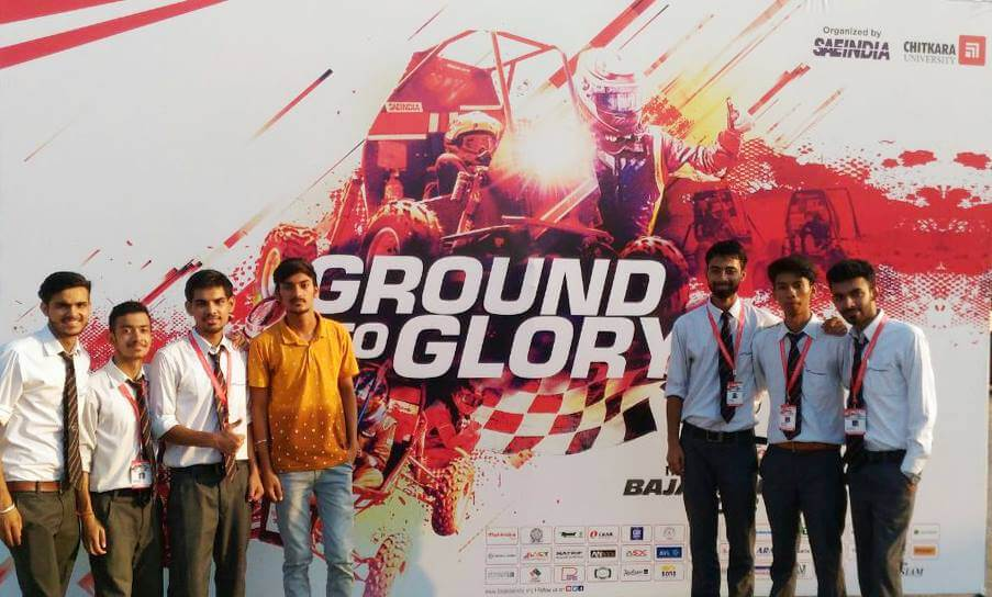 'Team Audacious' performed outstandingly in Virtual Round of MAHINDRA BAJA SAE INDIA 2018