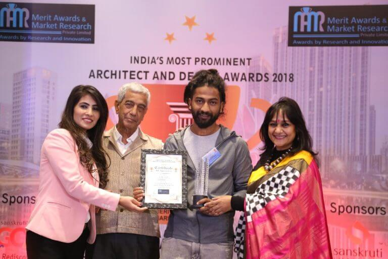 "Alumnus Rakshit Pandey honored with ""Best Architect in Uttarakhand"" in ""India's Most Prominent Architect & Design Awards 2018"""