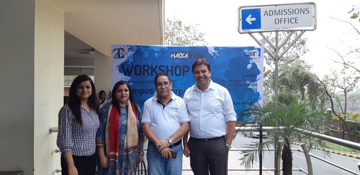 Workshop on 'Campus to Corporate'