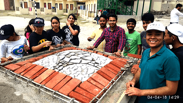 'Hands On Workshop' on 'Indigenous Architecture & Design'