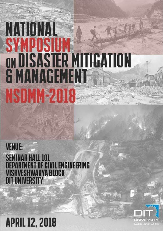 National Symposium on Disaster Mitigation & Management (NSDMM-2018)