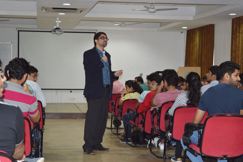 Session on 'Universal Human Values' - Fresher's Induction Program 2018