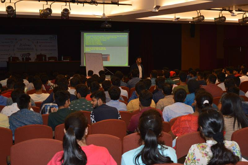 'Magical Mathematics Session' during Fresher's Induction Program