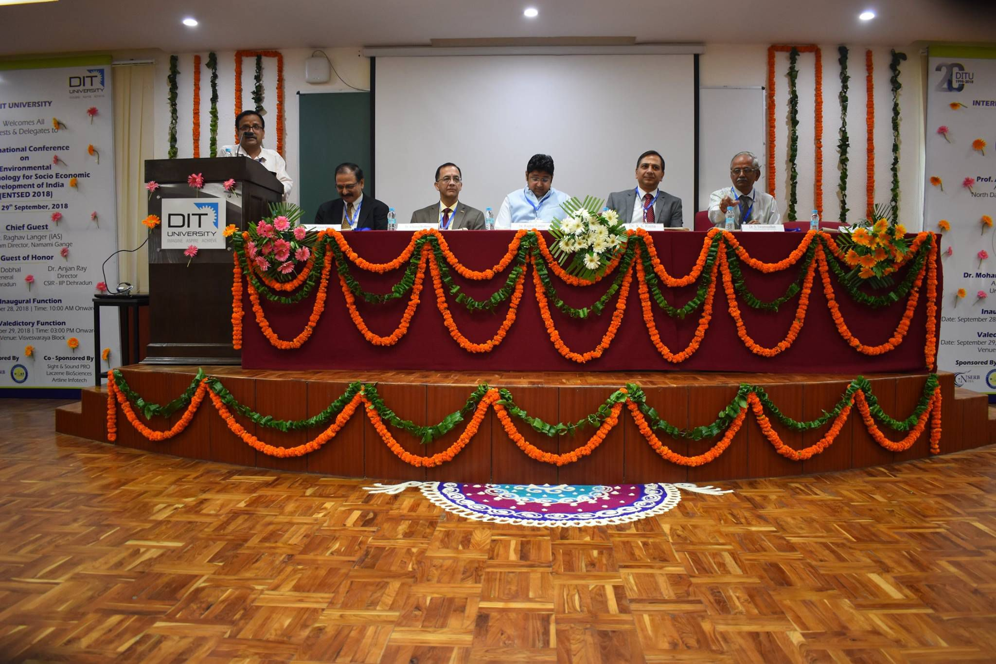 ENTSED 2018 'International Conference on Environmental Nanotechnology for Socio Economic Development of India'
