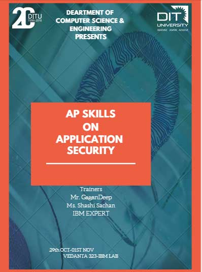 Workshop on 'AP Skills on Application Security' by IBM Experts