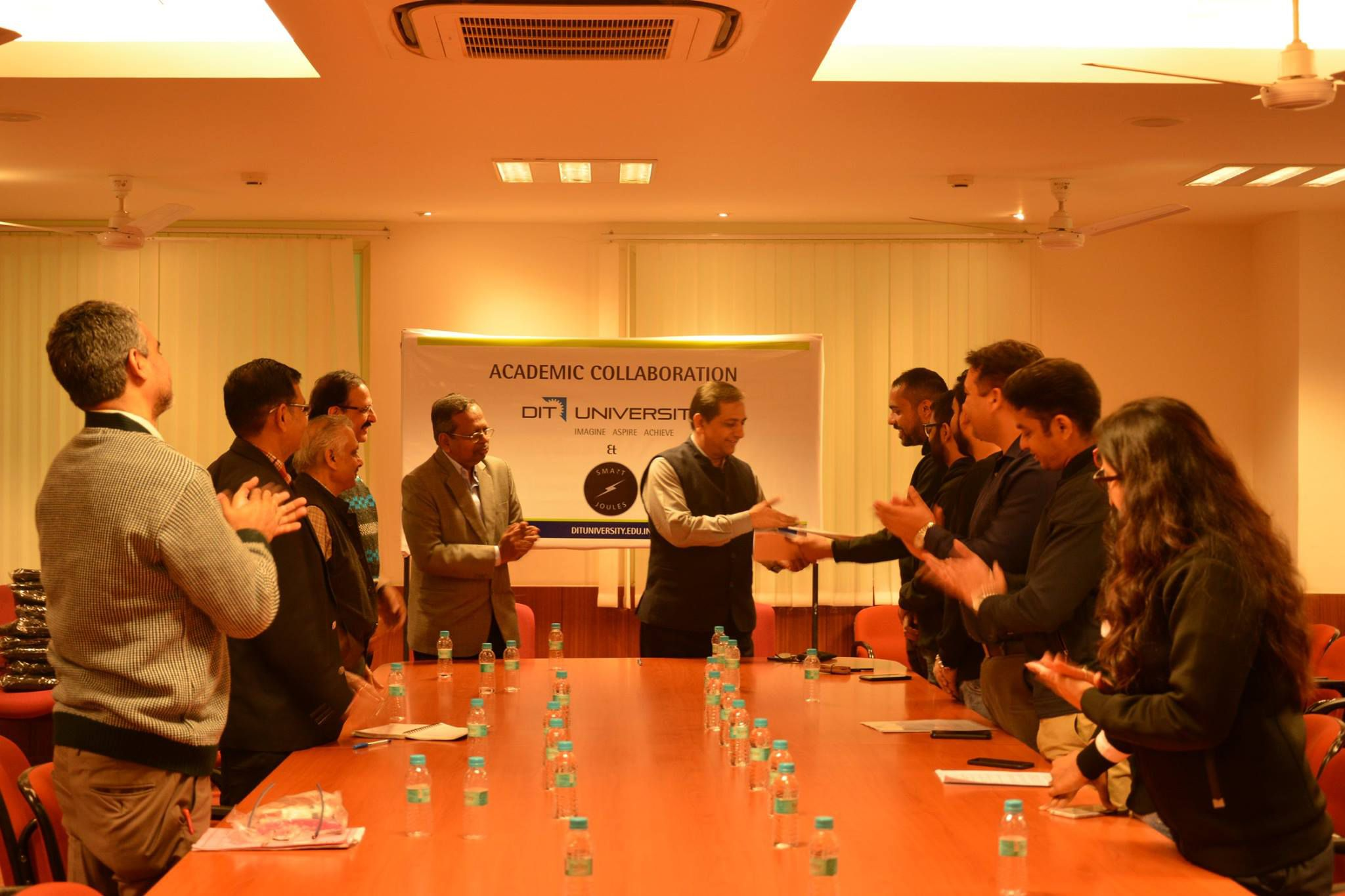 Academic collaboration MOU signed between DIT University and SmartJoules