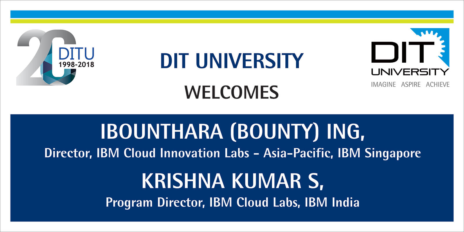 DIT University welcomes delegates from IBM