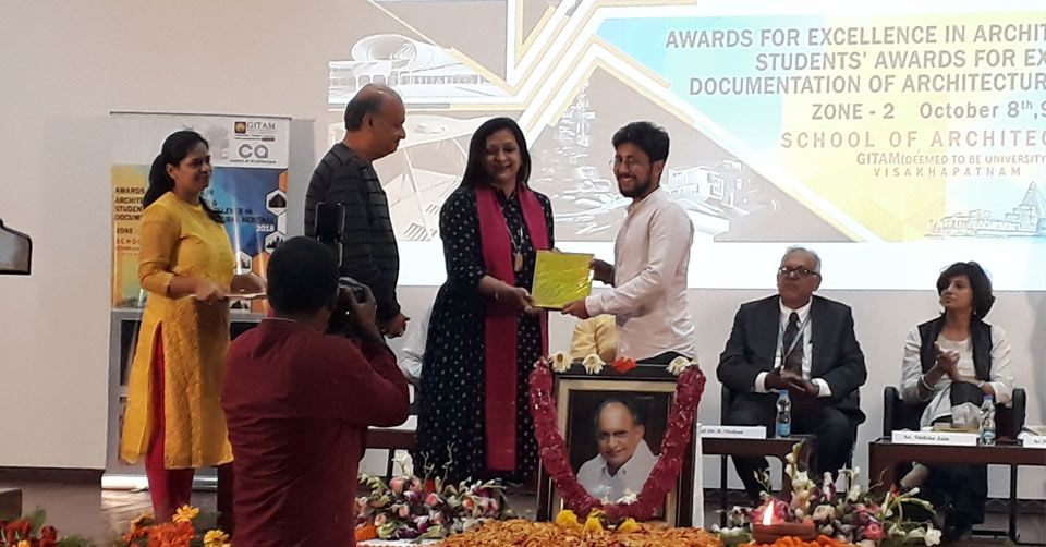 Vaibhav Agarwal , Council of Architecture_Top 10 Thesis in  Zone 2