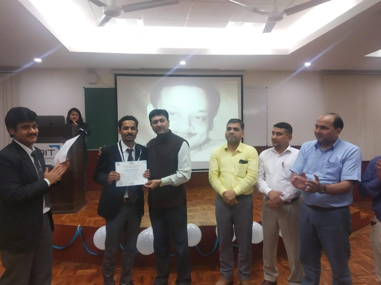 Gaurav Sharma, Prize in debate competition