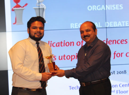 Sheersh Raj Anand (2 year) , Best sub leader award
